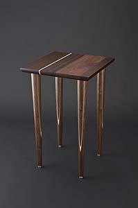 「寄木サイドテーブル」露木清高